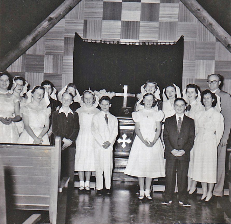 1954 Confirmation Class