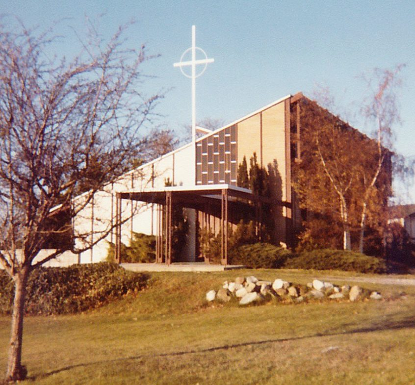 Brand New Church Building--1960